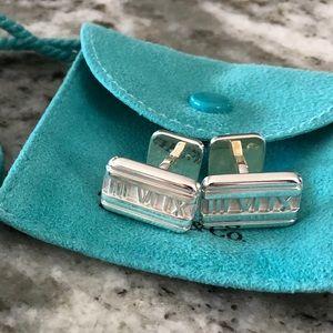 Tiffany & Co. Atlas Cuff Links